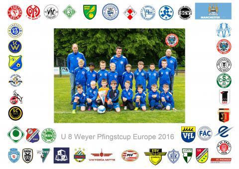 Mannschaftsbild der F 2 Jugend 2016